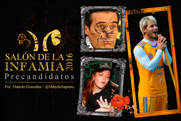 Sal n de la infamia 2016 precandidatos futbol sapiens for Salon de la photo 2016