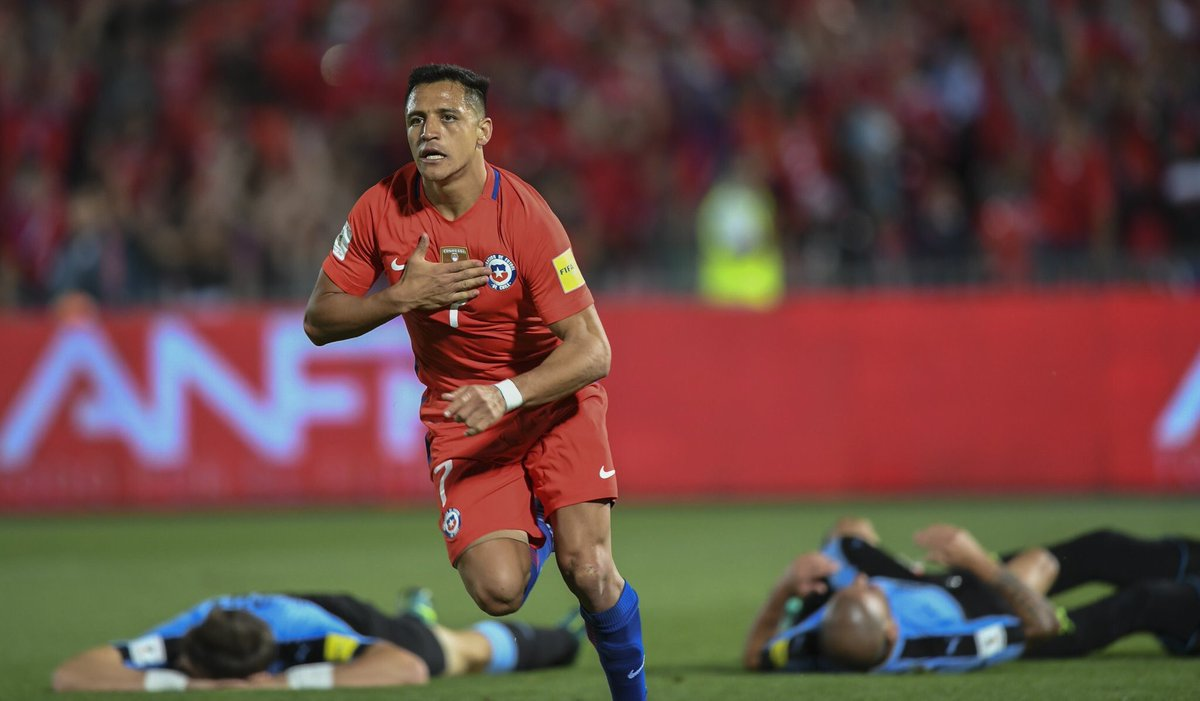 Chile le pegó a Uruguay con doblete de Alexis - Futbol Sapiens