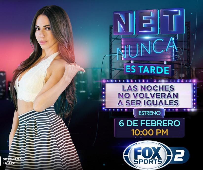Jimena Sánchez en nuevo programa nocturno NET