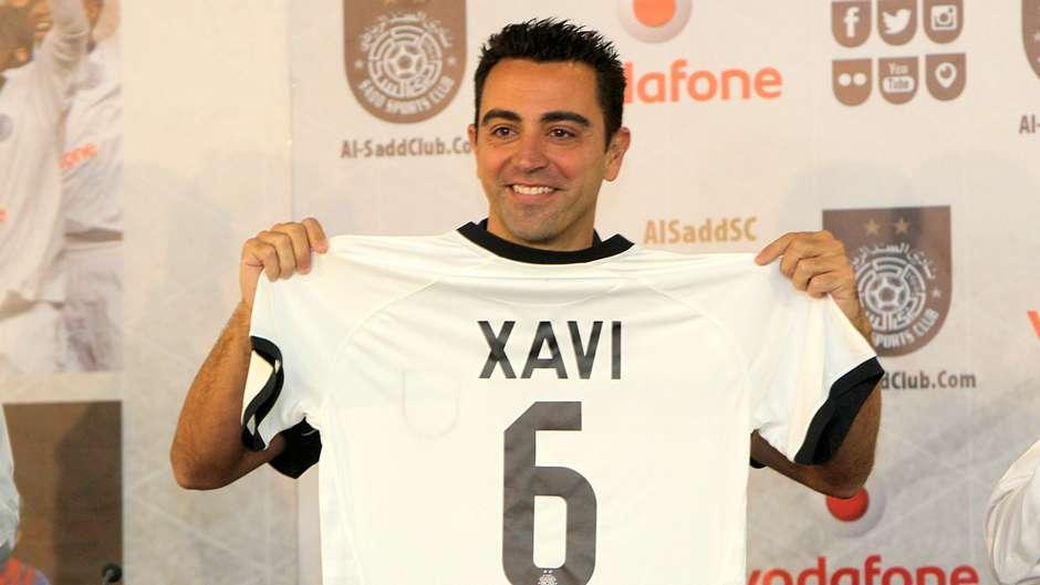 Xavi renovó con el Al Sadd
