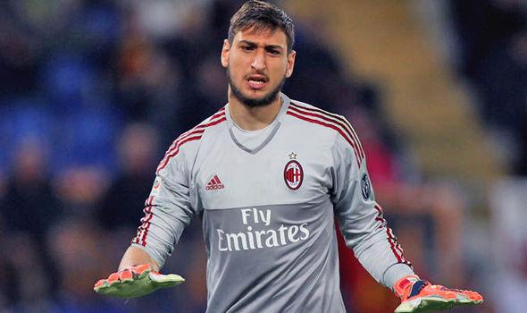 Donnarumma terminó llorando tras insultos de los hinchas del AC Milan