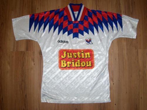 Camiseta local 1995 del Olympique de Lyon