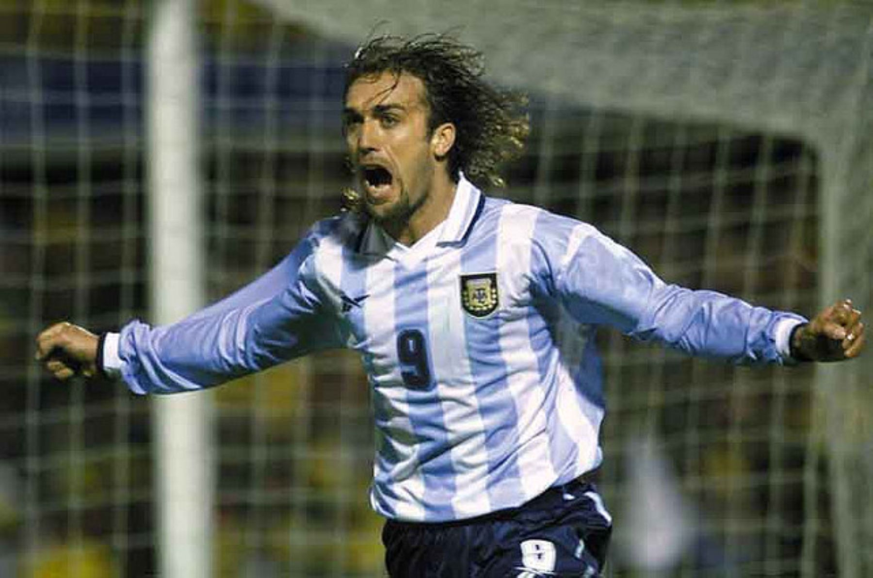 A Batistuta le dolió que Messi rompiera su récord