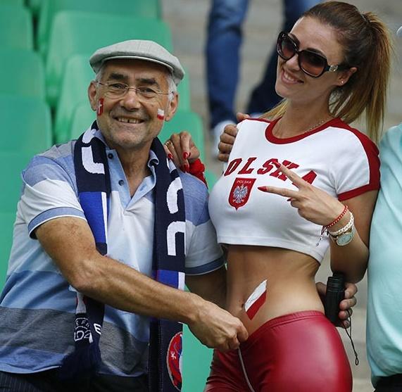 Hermosas fans polacas