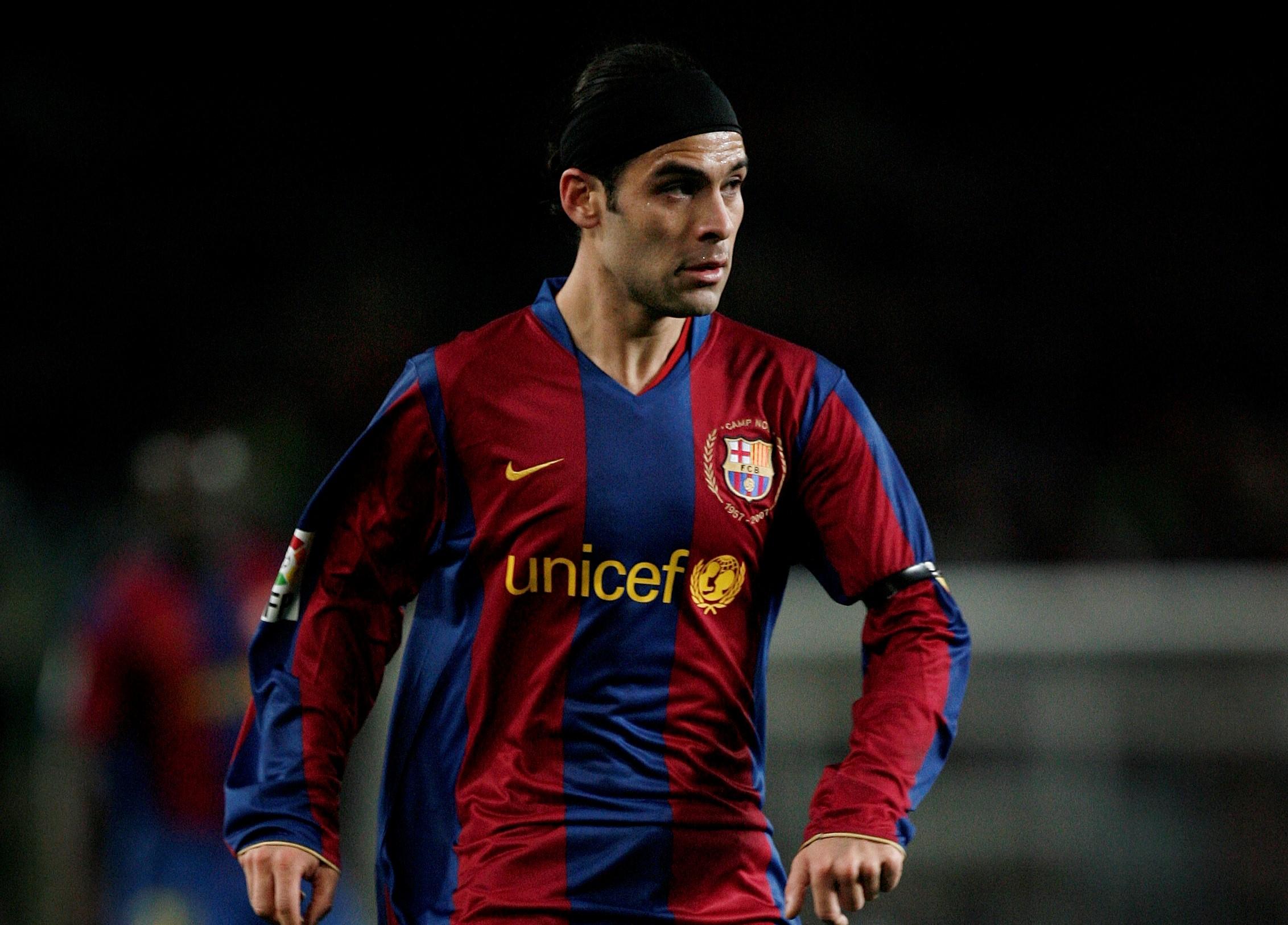 88d806599 El Barcelona felicitó a Rafa Márquez por su cumpleaños recordando un gol  suyo