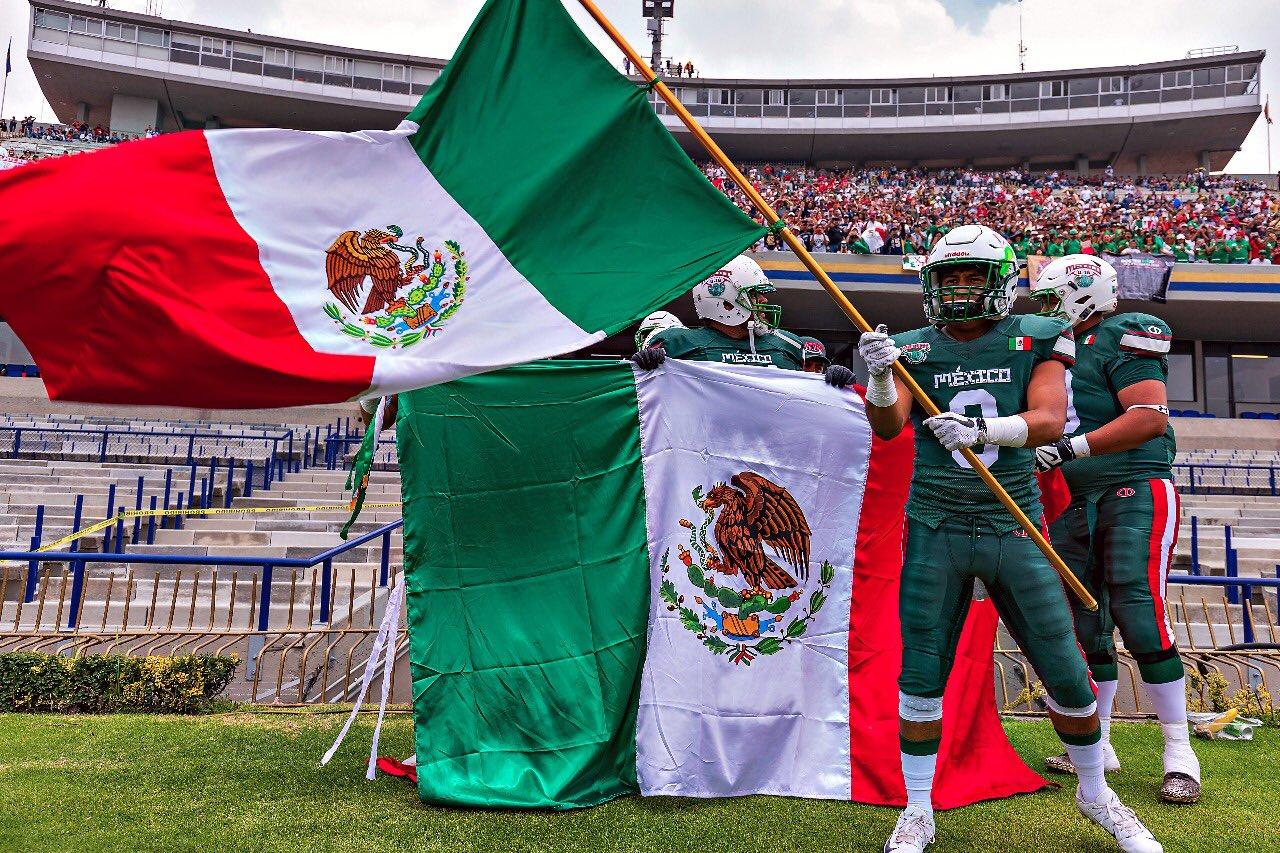 México debuta con victoria contra Japón en el Mundial Sub-19 de Futbol  Americano b0c26bf5b71