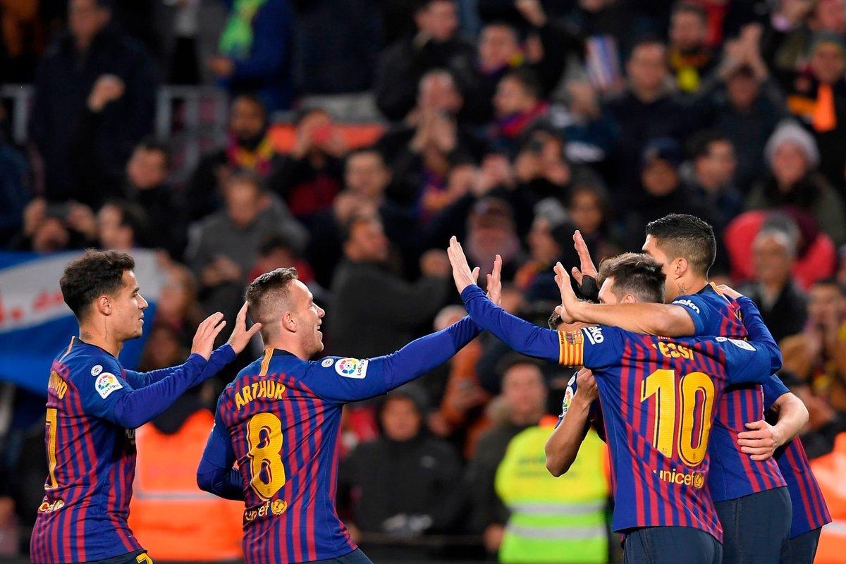 Set, remontada y clasificación para el Barça ante Sevilla