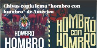 Chivas imita el eslogan del América