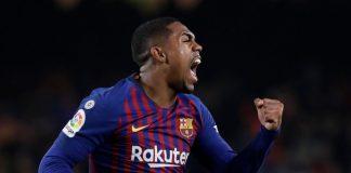 Malcom rescató al Barcelona a tiempo