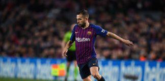 Jordi Alba renueva su contrato con el FC Barcelona