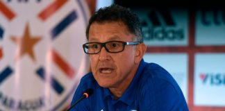 Osorio abandona a la Selección Paraguaya