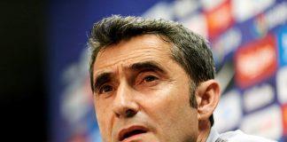 Valverde se deshizo de elogios ante Leo Messi