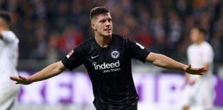 Luka Jovic pasó a ser propiedad del Eintracht Frankfurt