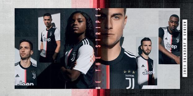 El nuevo uniforme adidas de la Juventus mira al futuro con un diseño renovado