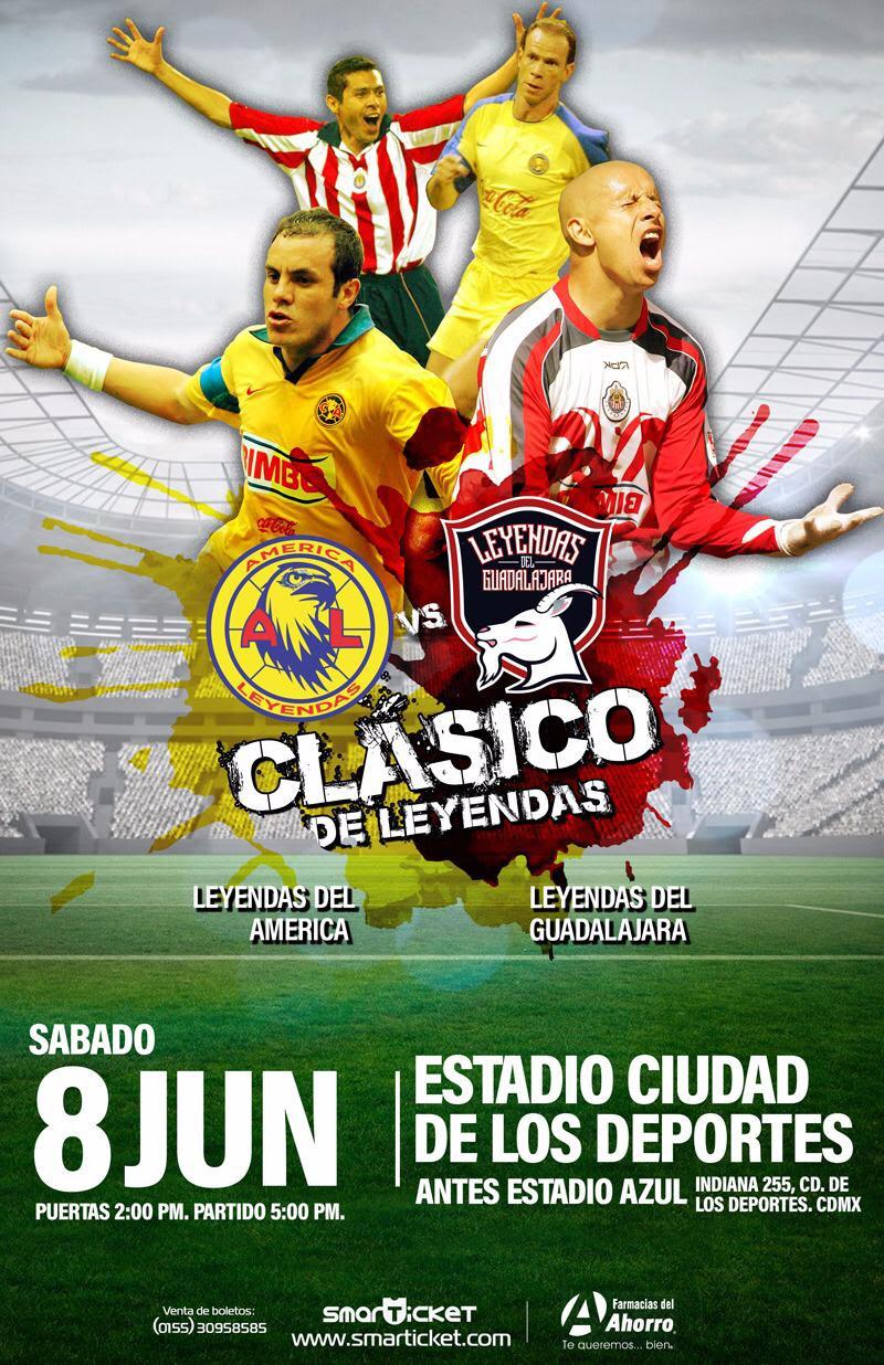 Partido Clásico De Leyendas América Vs Chivas Futbol Sapiens