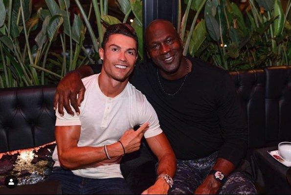 """Cooperación tos Solicitante  Cristiano se puso a la altura de Michael Jordan: """"Hicimos historia"""" -  Futbol Sapiens"""