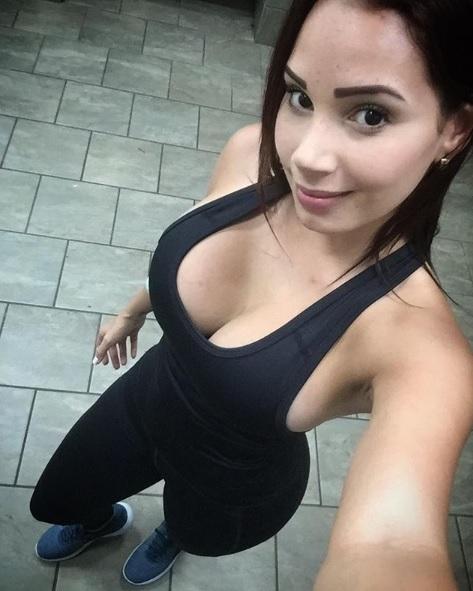 Una guapa reportera de deportes venezolana