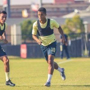 Dos Santos aún no está listo para debutar / Foto: vía Twitter