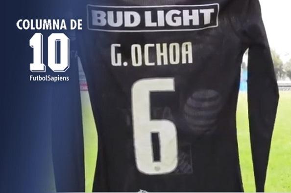 10 Dorsales inusuales y el nuevo '6' de Memo Ochoa con América