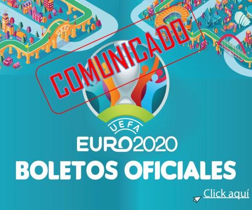 SITUACIÓN DE LOS BOLETOS PARA LA UEFA EURO 2020