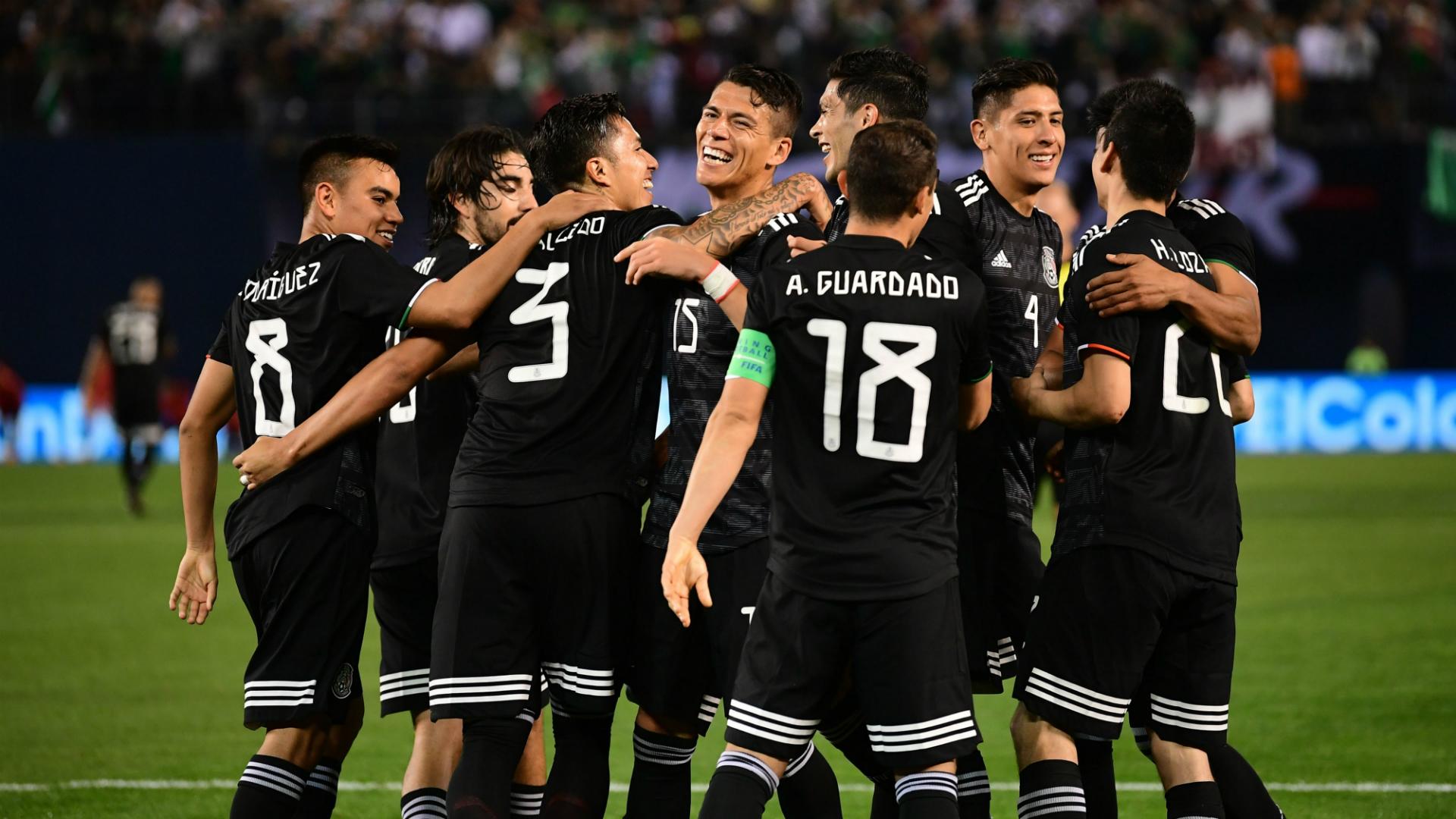 México partido en Concacaf