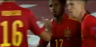 España vs Ucrania