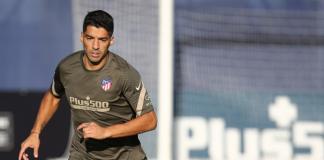 Atlético. Suárez