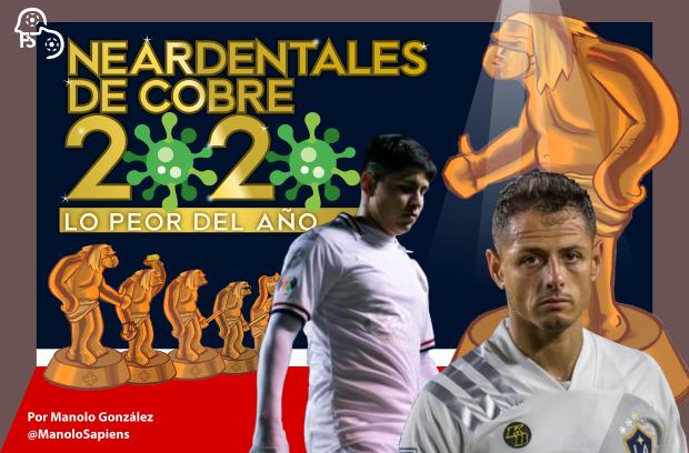 Premios Neandertales de Cobre a lo peor del 2020 ¡Vota por lo más malito!