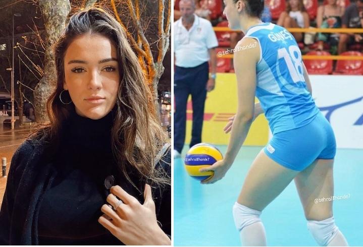 Gunes, conoce a esta guapa jugadora turca de Voley