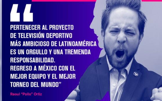 Raoul 'El Pollo' Ortiz es presentado en su nueva televisora y los tuiteros lo rechazan